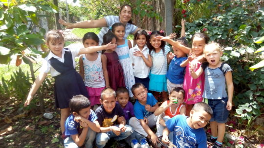 Education & food for 200 children in Nicaragua