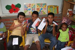 Christmas fun in Nicaragua