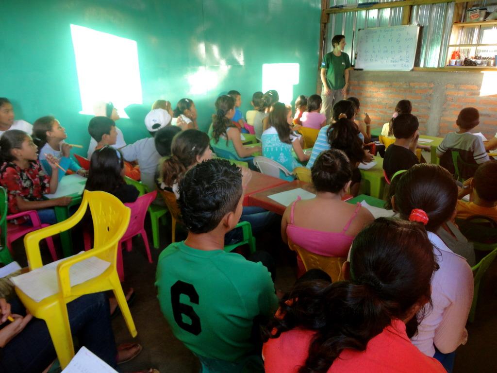 English Classes in Nicaragua