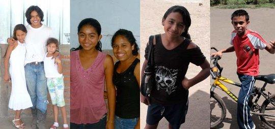 Scholarship Beneficiaries in Nicaragua