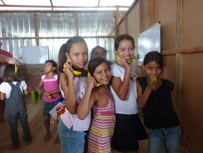 "Children ""answering the phones"" in Nicaragua!"
