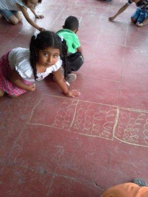 Creativity on the floor