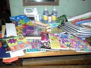 Some of our school materials store!