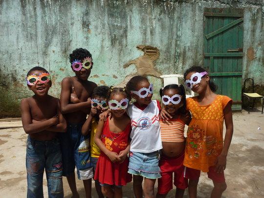 The kids of Mata Escura