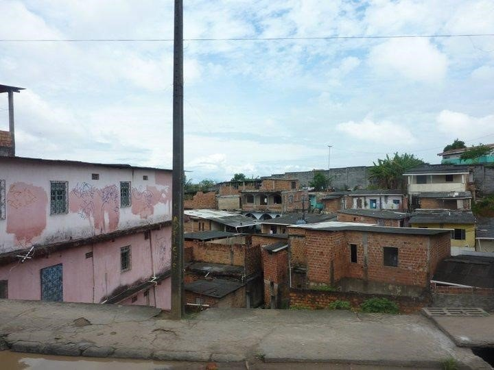 Housing in the favelas