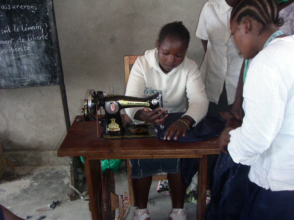 Vocational training at Virunga center 1