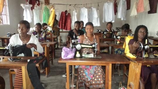 Girls training center at CHildren's Voice