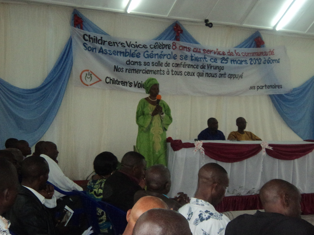General Assembly on 25 march 2012, 8 years