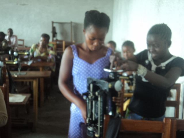 Girls vocational training center-Children