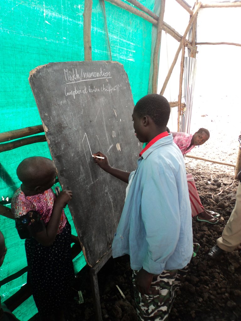Village learning after war