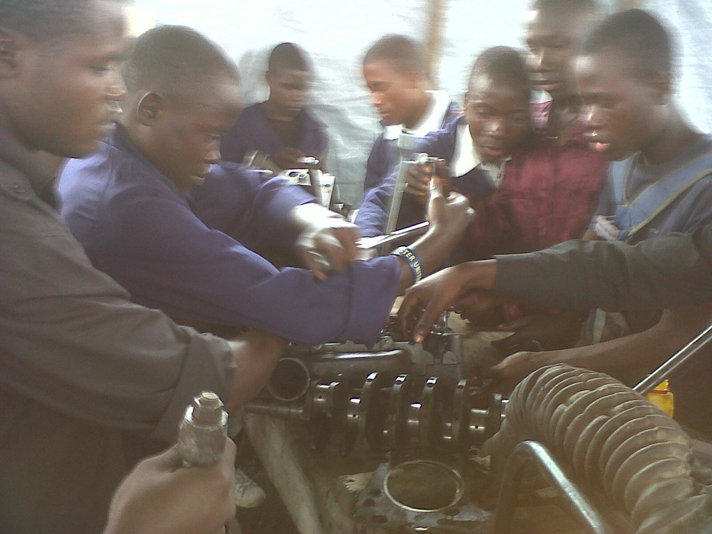 Mechanic training Children