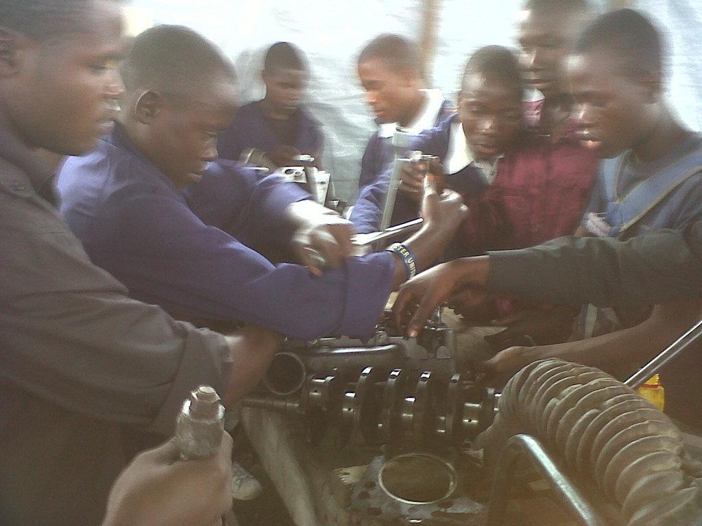 Mechanic training Children