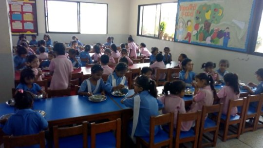 Breakfast Hall at KPS
