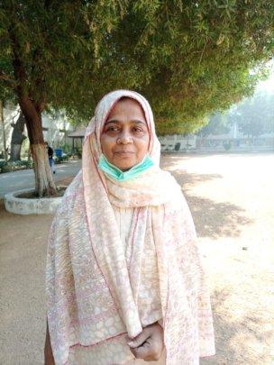 Abida - seasoned member of caretaker staff at SMB