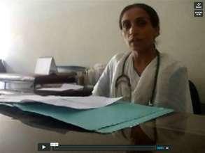Haji Bibi, school nurse