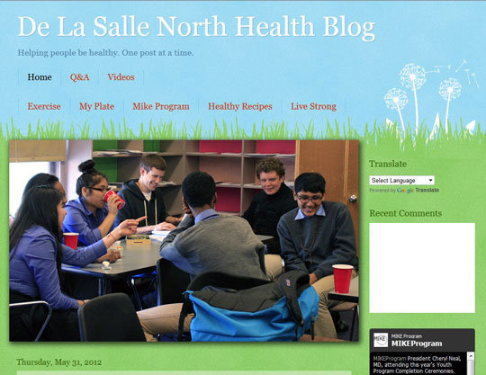 Youth Health Blog Launched