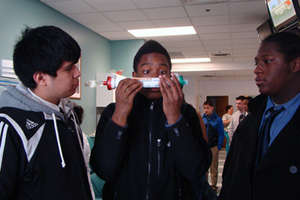 DLSNC Youth at a dialysis center in Portland, OR
