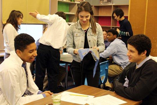 Sofia Murfitt mentors youth