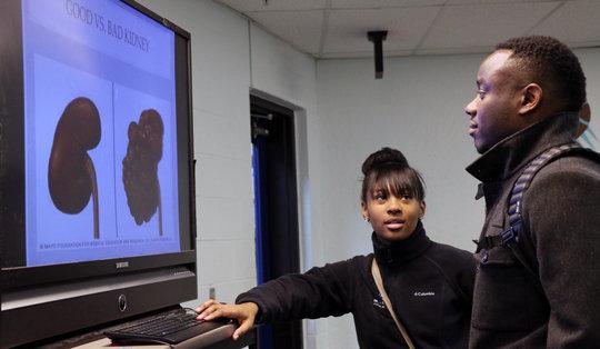 DLSNC Health Leadership Project at SEI Academy