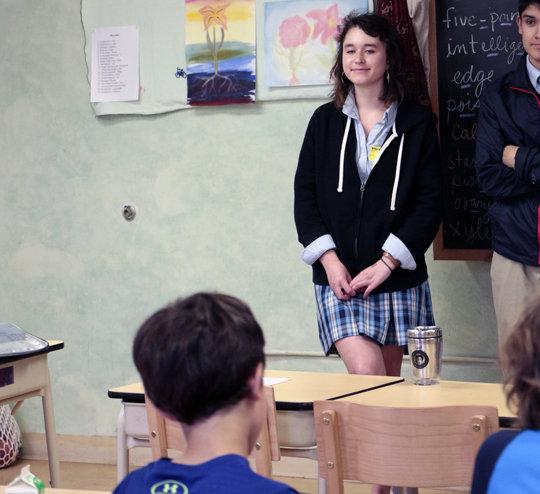Delaney at Portland Village School