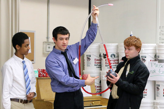 Health Leadership Project Day at Trillium School