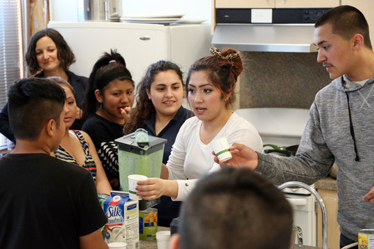 Youth Cook Up Healthy Options