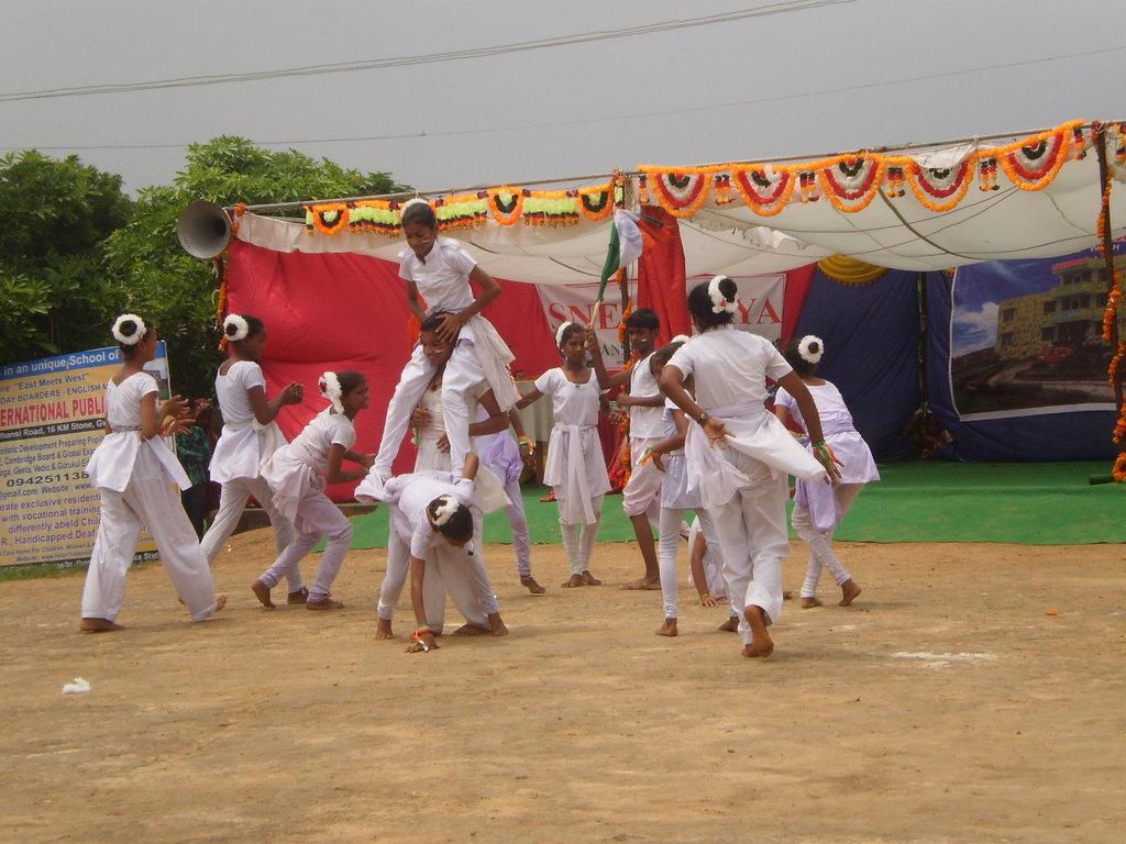 Vandemataram in Yoga by our children