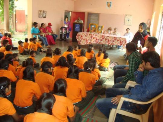 Mahatma Gandhi remembered on 2nd Oct. in Snehalaya