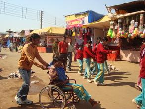 snehalaya's children in trade fair market