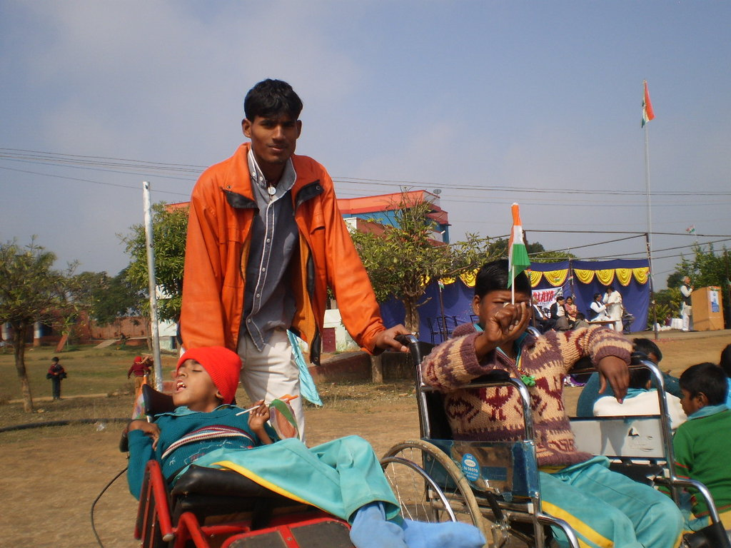 Republic day celebrations in Snehalaya