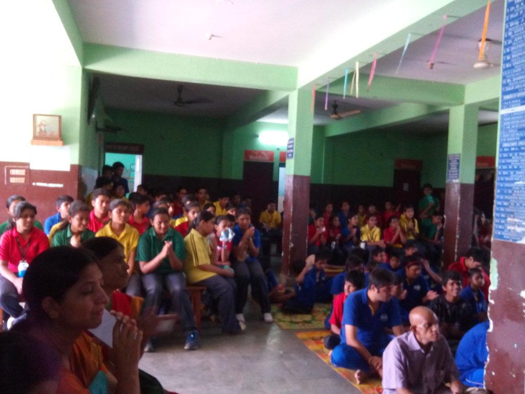 Children from Delhi Public School N our Children