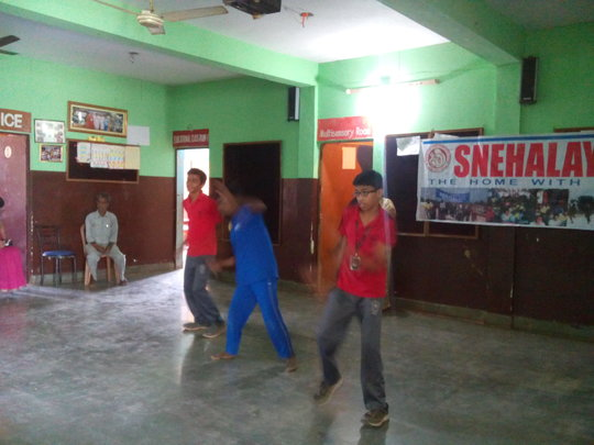 Dance by our Dheeraj with children from DPS