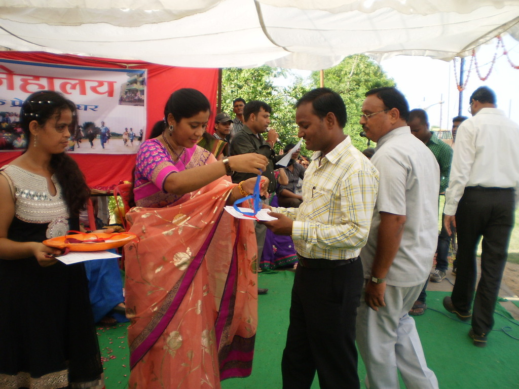 prize distribution - We are winners...