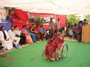 The courage of our children - dance on wheel chair