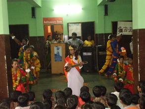 children presenting