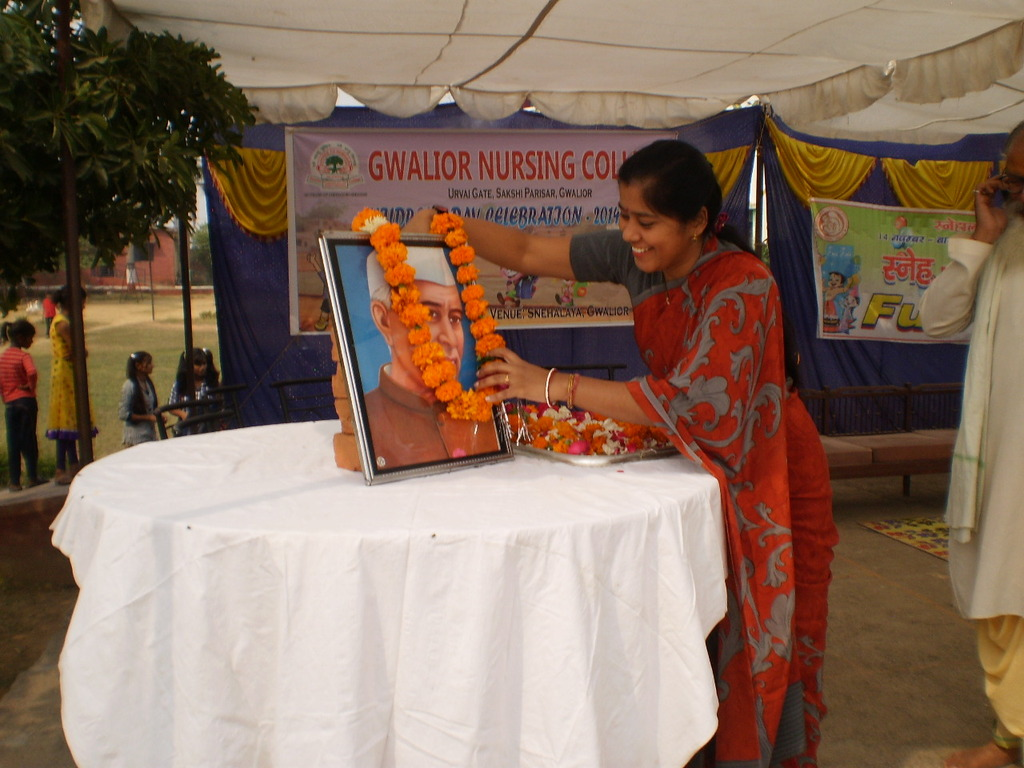 Dr. Gita Narahari, our chief Guest for the day