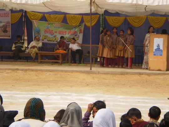 Remembering Pt. Nehru on Childrens Day in SNEHALAY
