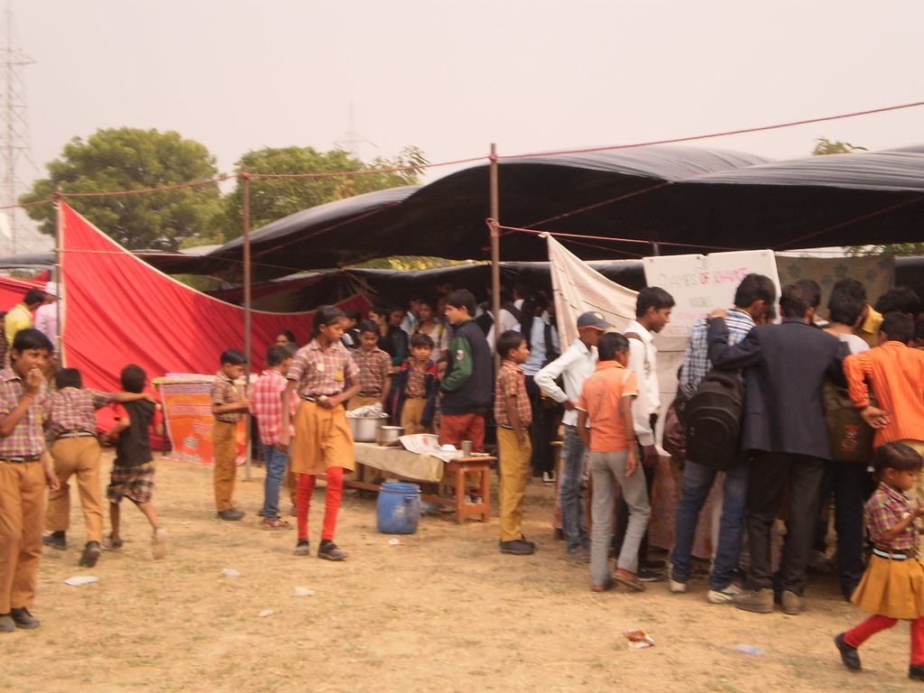 children enjoyed the food and games too