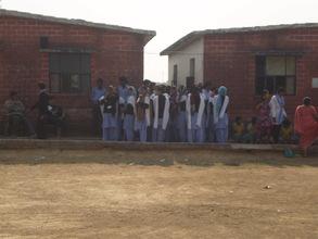 College children with our children in Snehalaya