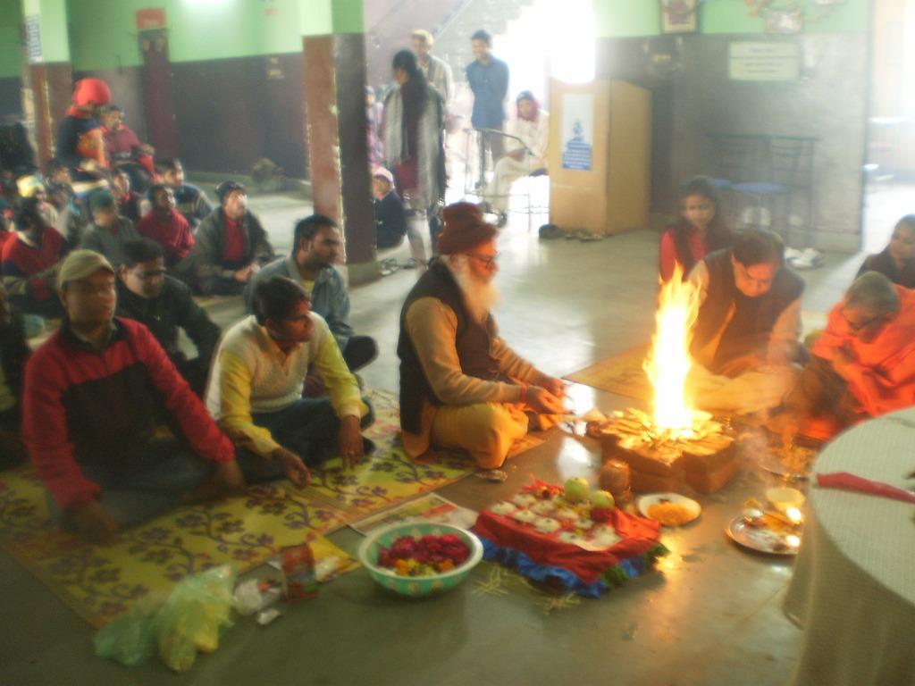 hawan and yagya on Vasant Panchmi