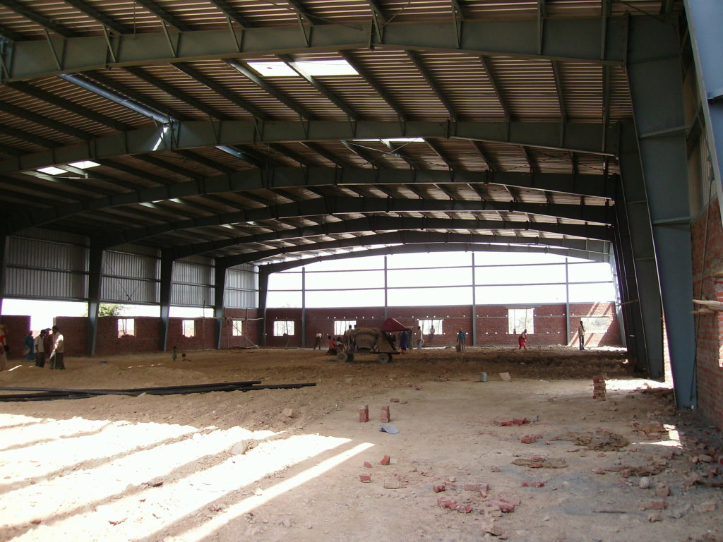 Our new Multi-purpose Hall almost ready for use