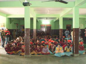 Our Children participate in Vasant Panchami Pooja