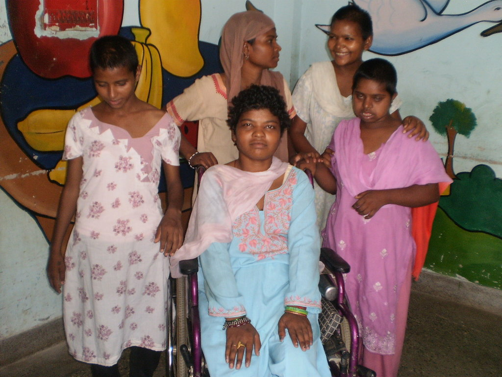 Welcome five new girls to our family in Snehalaya