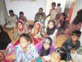 Fatehwadi Class activity