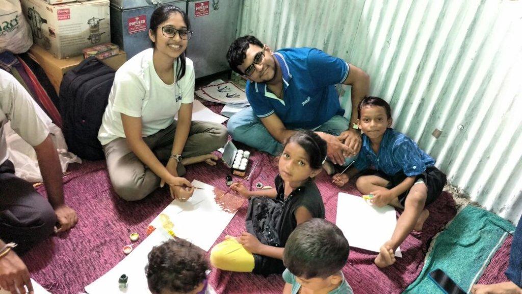 Activities with volunteers