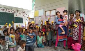 Donation of Mangoes at Centre