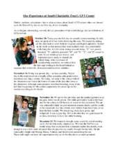 Our Experience at Saath Charitable Trust (PDF)