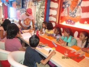 Exposure visit at a restaurant