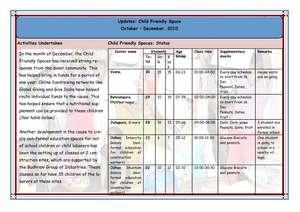 Child Friendly Spaces update (PDF)