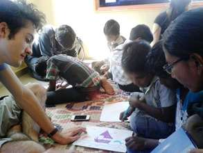 15 Students - France conducted craft workshop-CFS